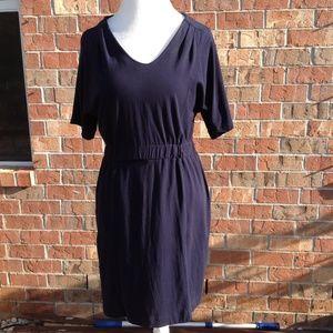 J Crew Women Navy Blue Dress Size Medium Fall